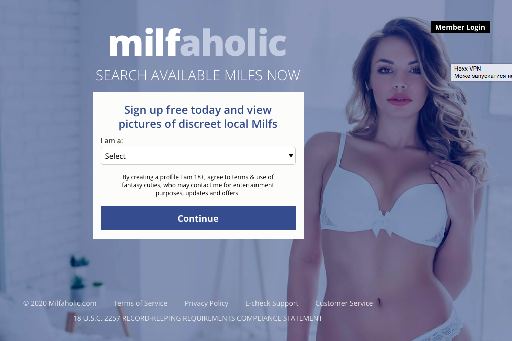 main page Milfaholic